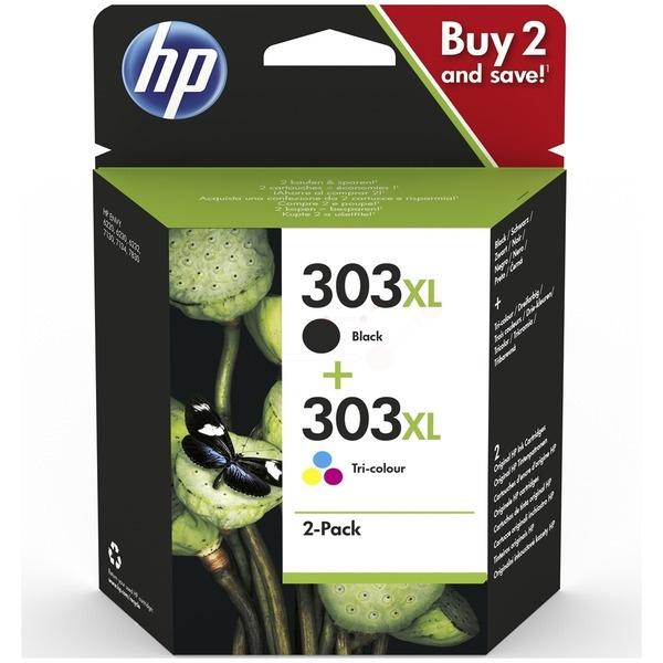 Original HP 303XL black color