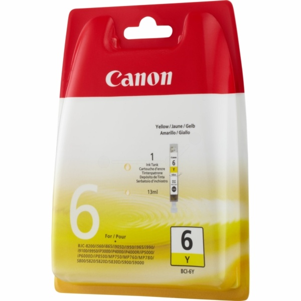 Canon BCI-6 Y yellow 13 ml
