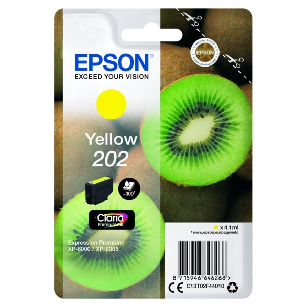 Epson 202 yellow 4,1 ml