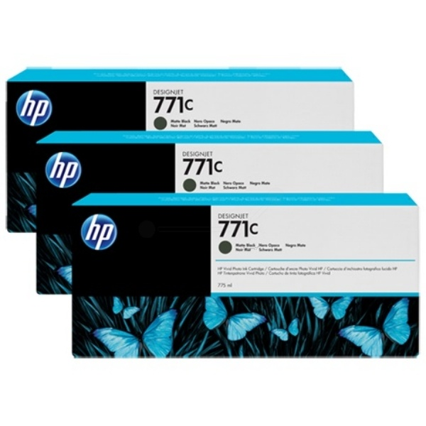 HP 771C blackmatte 775 ml