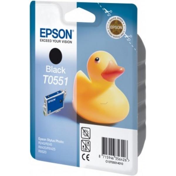 Epson T0551 black 8 ml