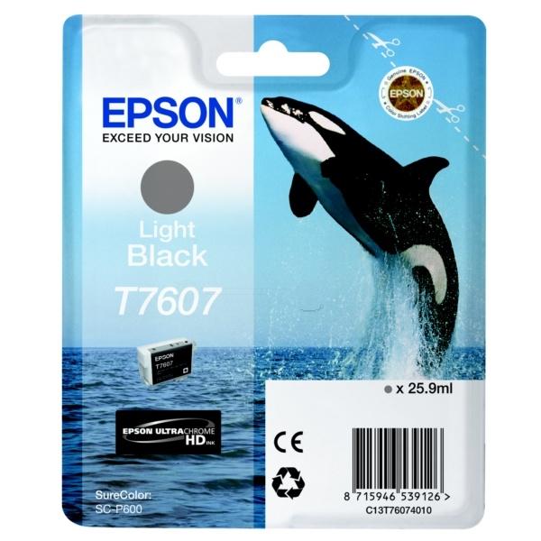 Epson T7607 gray 25,9 ml