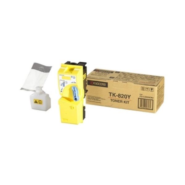 Kyocera TK-820 Y yellow