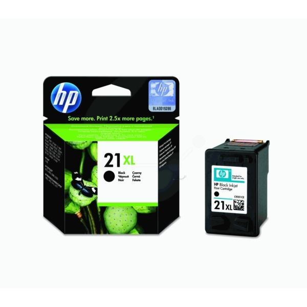 HP 21XL black 12 ml