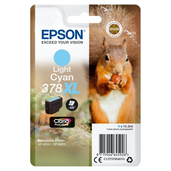 Epson 378XL photocyan 10,3 ml