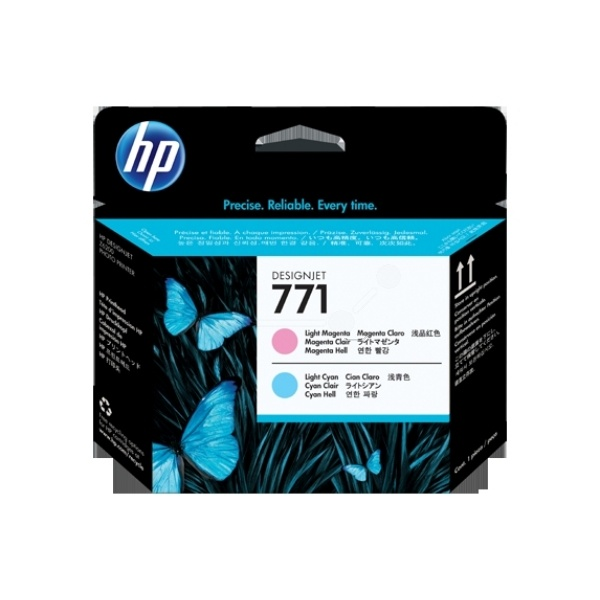 HP 771 cyan photomagenta light 775 ml