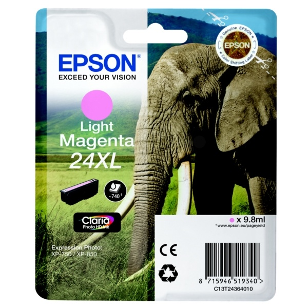 Epson 24XL photomagenta 9,8 ml