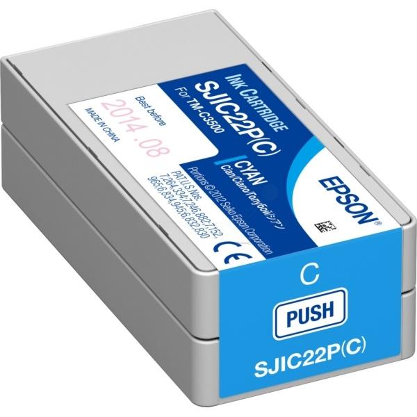 Epson SJI-C-22-P-(C) cyan 32,5 ml