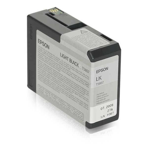 Epson T5807 black 80 ml