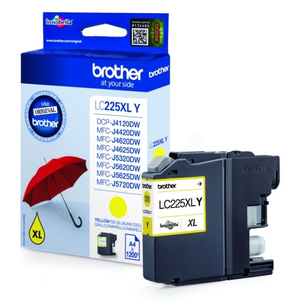 Brother LC225XLY yellow 11,8 ml