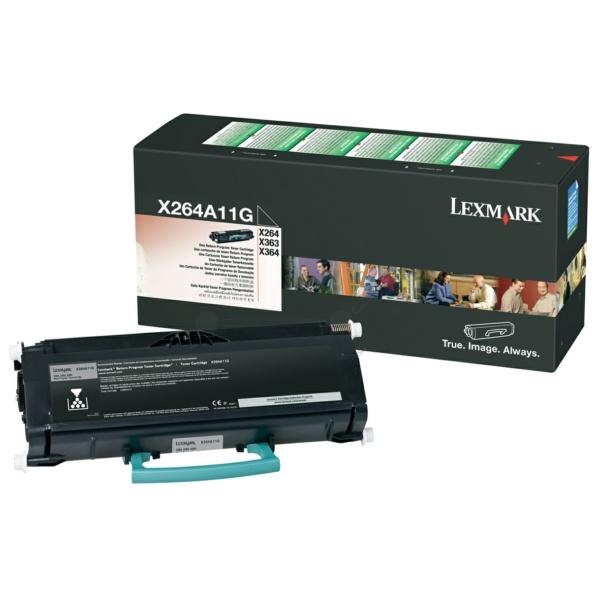 Lexmark X264A11G black