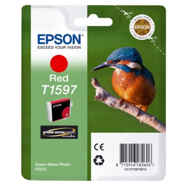 Epson T1597 red 17 ml