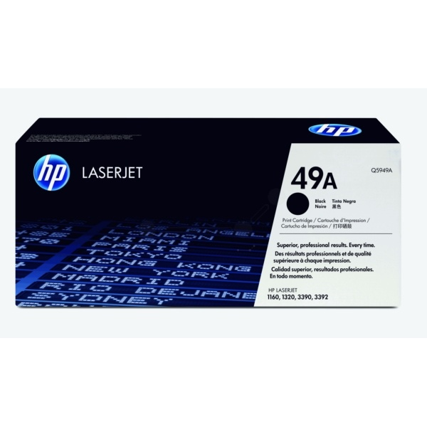 HP 49A black