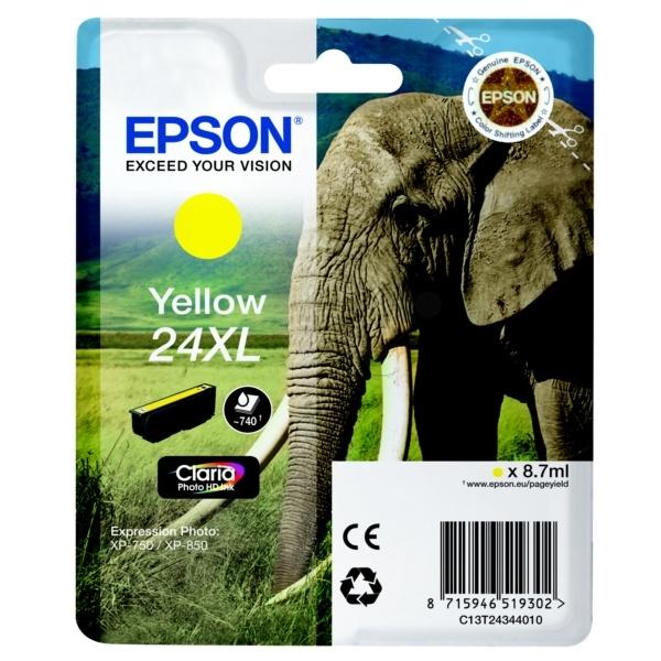 Epson 24XL yellow 8,7 ml