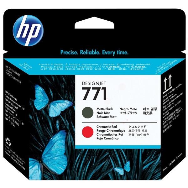 HP 771 blackmatte red 775 ml