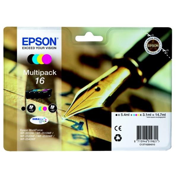 Epson 16 black cyan magenta yellow