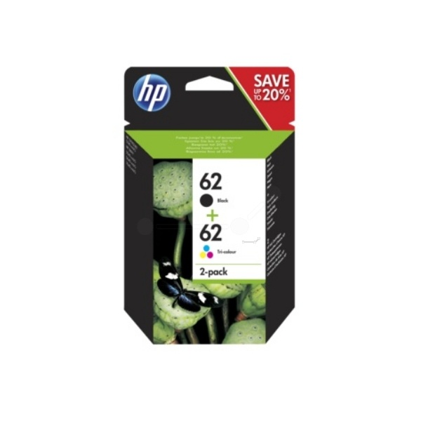 HP 62 black color