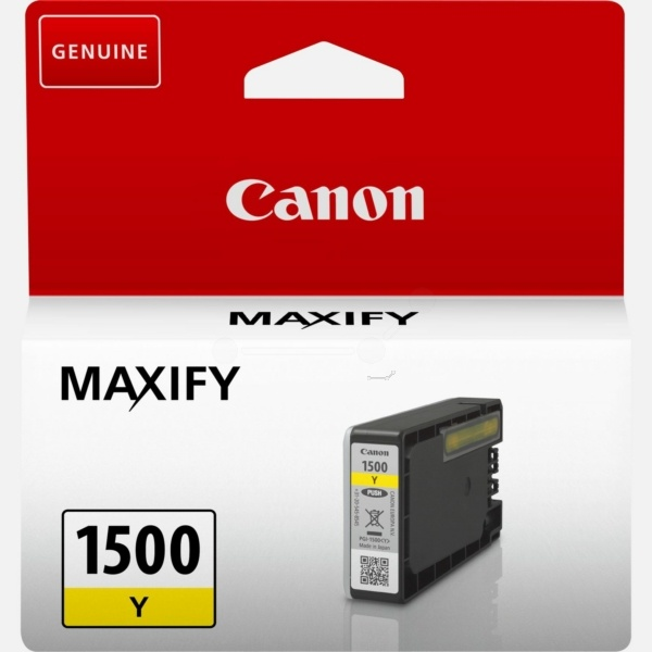 Canon PGI-1500 Y yellow 4,5 ml