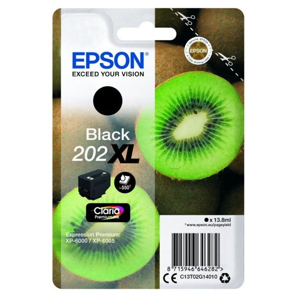 Epson 202XL black 13,8 ml