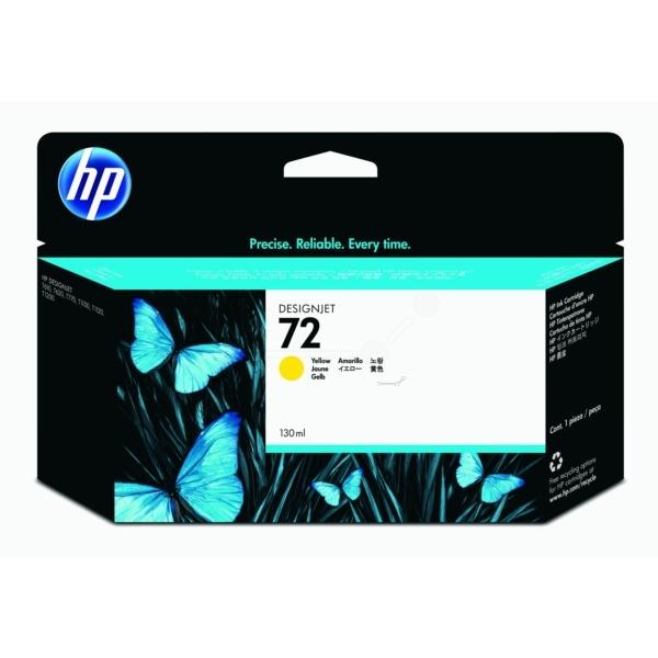 HP 72 yellow 130 ml