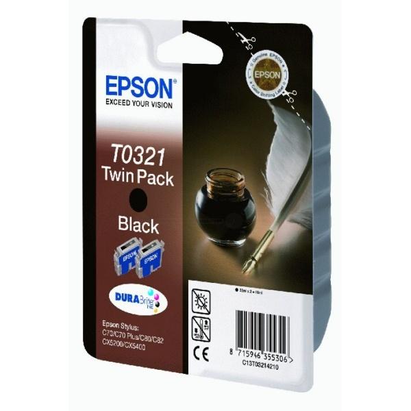 Epson T0321 black 33 ml