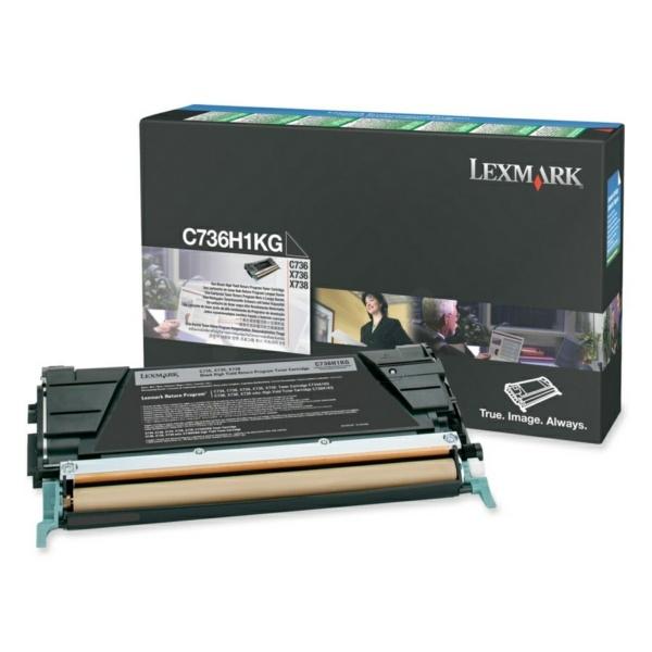 Lexmark C736H1KG black