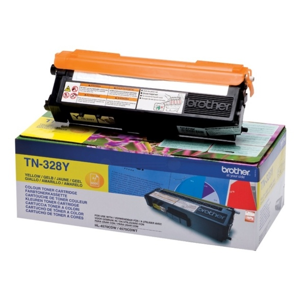 Brother TN328Y yellow