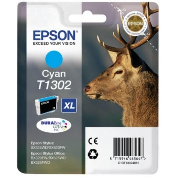 Epson T1302 cyan 10,1 ml