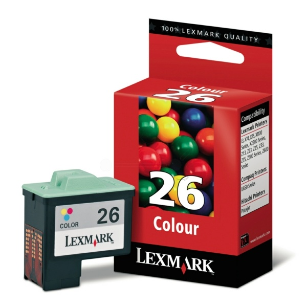 Original Lexmark 26 Color