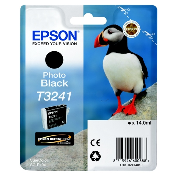 Epson T3241 black 14 ml