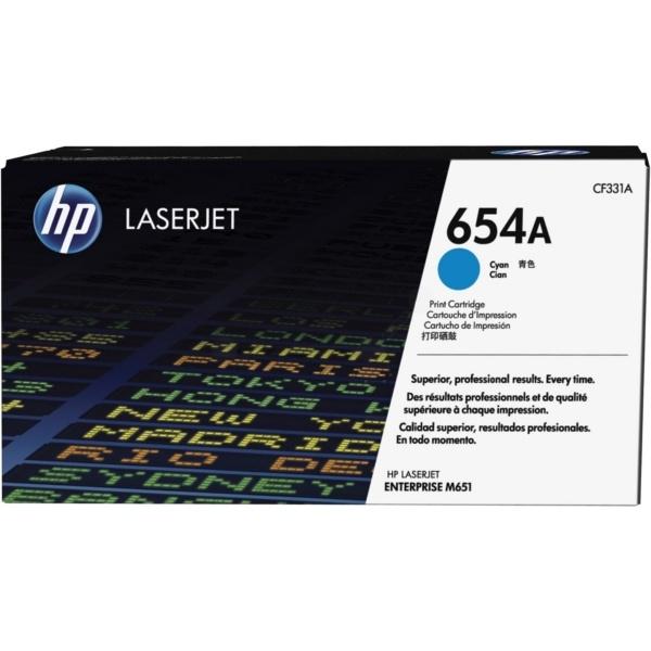 HP 654A cyan