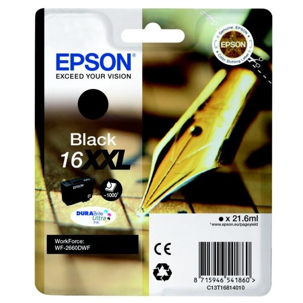 Epson 16XXL black 21,6 ml