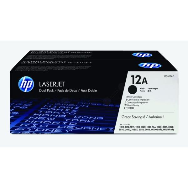 HP 12AD black
