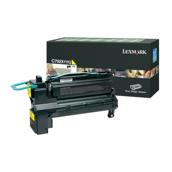 Lexmark C792X1YG yellow