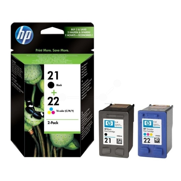HP 21+22 black color