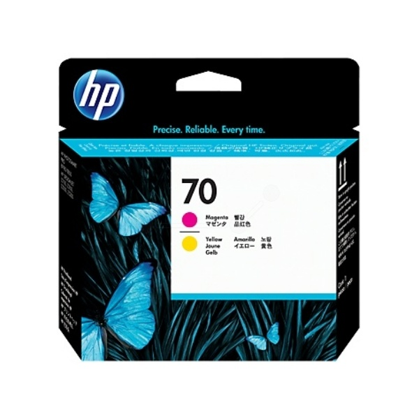 HP 70 magenta yellow 130 ml