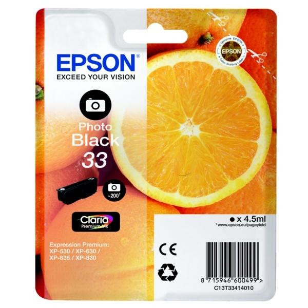 Epson 33 photoblack 4,5 ml