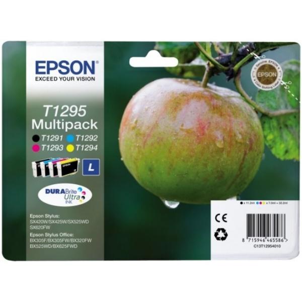 Epson T1295 black cyan magenta yellow