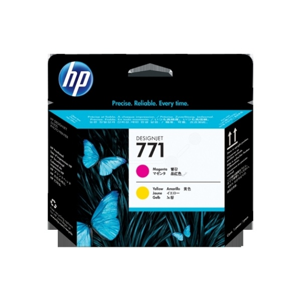 HP 771 magenta yellow 775 ml