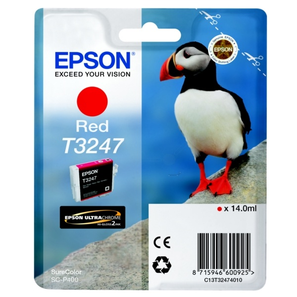 Epson T3247 red 14 ml