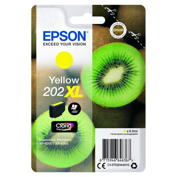 Epson 202XL yellow 8,5 ml