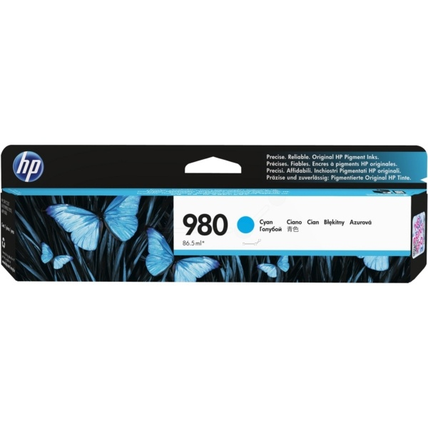 HP 980 cyan 86,5 ml