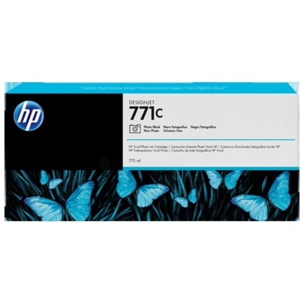 HP 771C photoblack 775 ml