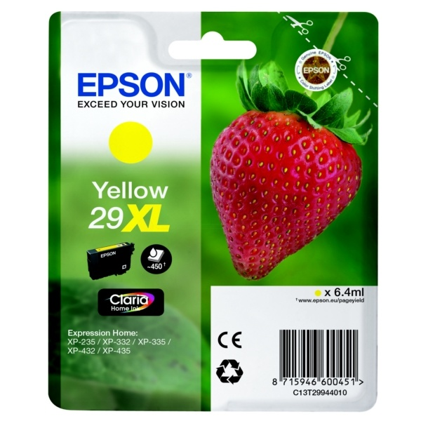 Epson 29XL yellow 6,4 ml