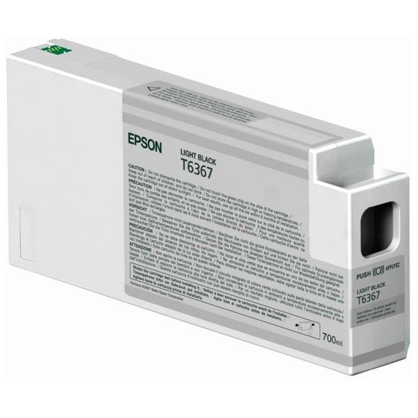Epson T6367 black 700 ml