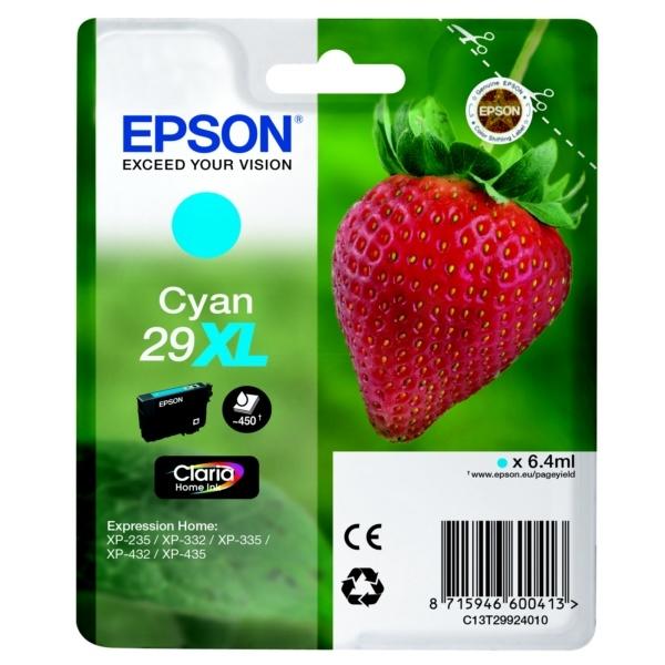 Epson 29XL cyan 6,4 ml