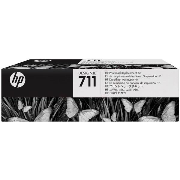 HP 711 black cyan magenta yellow 12 ml