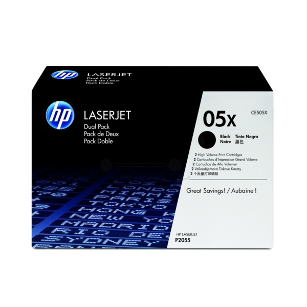HP 05XD black