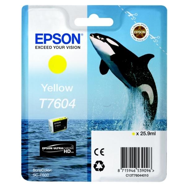 Epson T7604 yellow 25,9 ml