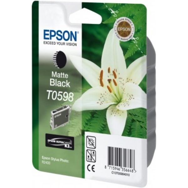 Epson T0598 blackmatte 13 ml